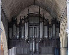 Fécamp (Seine-Maritime) - Eglise Saint-Etienne - Orgue de tribune