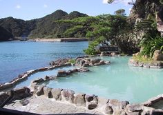 Onsen, Nachikatsuura, Japan  温泉、那智勝浦、日本