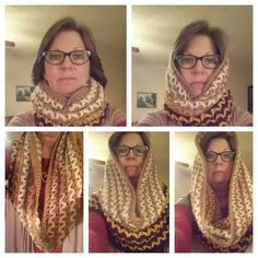 Hooded Scarf / Cowl