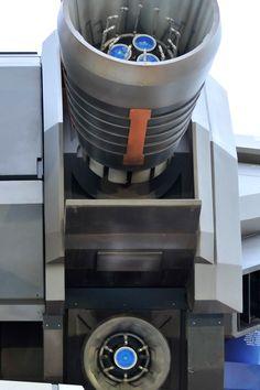 1/1 scale Gundam Engine nozzle