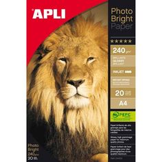 Comprar Papel fotográfico A4 240g 20 hojas 04454  #oficina #tienda #negocio #casa #hogar #papel #fotografico #profesional #A4