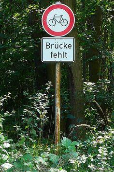 Brücke fehlt