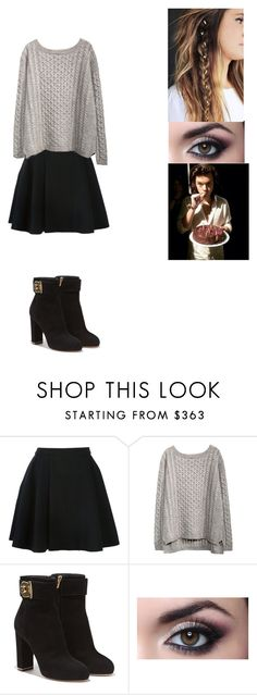 """Untitled #301"" by gabriellaraina ❤ liked on Polyvore featuring Avelon and Salvatore Ferragamo"