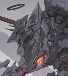 Fantasy Concept Art, Robot Concept Art, Armor Concept, Arte Gundam, Gundam Art, Arte Robot, Robot Art, Character Concept, Character Art