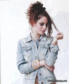 Кайя Скоделарио / эффи стонем макияж