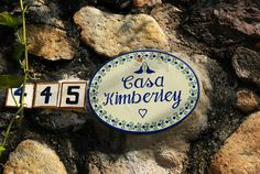 The original Casa Kimberley Sign infront of Elizabeth Taylors home she shared with Richard Burton in Puerto Vallarta.