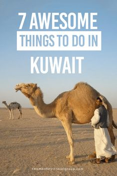 7 Awesome Things to Do in Kuwait Located between Iraq and Saudi Arabia, Kuwait is one of the least touristic countries in the world. You will come across many foreigners here, but few of them are visiting. Instead, they are Kuwait's managers, doctors, shop personnel and construction workers. Before the exploitation of oil, this was one of the poorest countries in the world, but the country has developed rapidly over the past 70 years.