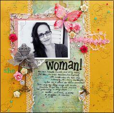 Woman - Scrapbook.com