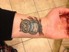 New owl tattoo <3