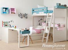 Habitaciones compartidas Asoral http://www.mamidecora.com/muebles.%20asoral.html