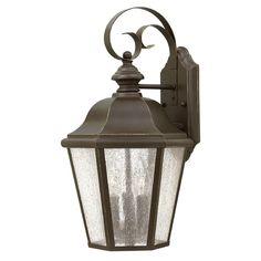 Hinkley Lighting Edgewater Oil Rubbed Bronze LED Outdoor Wall Light   1676OZ-LED   Destination Lighting