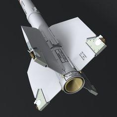 dxf aim 9m sidewinder missile