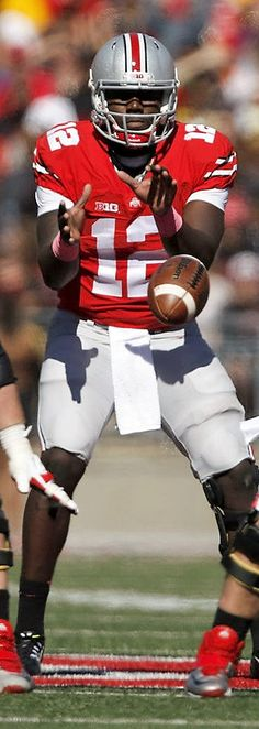 Cardale Jones #12 } *************** Ohio State Football #Buckeyes #GoBucks