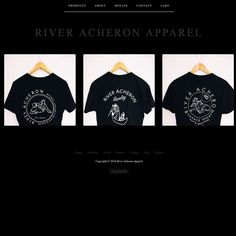 Did a little revamp of our Big Cartel. We're basic.  #riveracheronapparel #apparel #clothing #womensclothing #mensclothing #screenprinting #occult #metalasfuck #jewelry #handmadejewelry #gemstonejewelry #gemstone #boho #allblackeverything by riveracheronapparel