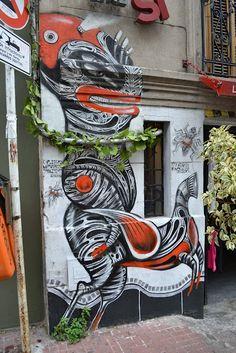 Arte callejero,  Buenos Aires.