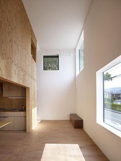 Clever house within a house. © Toshiyuki Yano