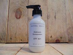natural organic sunscreen SPF30
