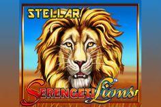 The Serengeti Lions Stellar Jackpots #slot has a safari theme, 3 jackpots, a Hot N' Spin and Diamond pick bonus- http://freeslotmoney.com/serengeti-lions-stellar-jackpots-slot/