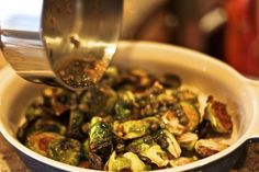 Tin Roof Bistro in Manhattan Beach, CA - Caramelized Brussel Sprouts