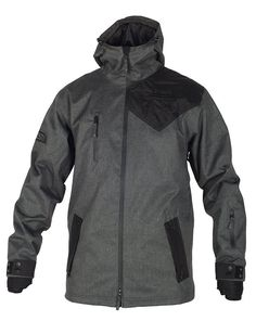 Majesty Combat Jacket - a tall-fit parka-like technical jacket designed for the slopes but can double up as excellent and stylish cold weather streetwear. Ski Usa, Nike Jacket, Rain Jacket, Combat Jacket, Black Oxfords, Like A Boss, Herringbone, Cold Weather, Parka
