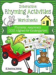 Fun rhyming activities and games for kids!