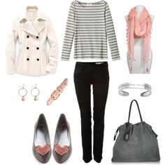 """Sweetheart"" by bluehydrangea on Polyvore...yes to everything except the shoes and bag"