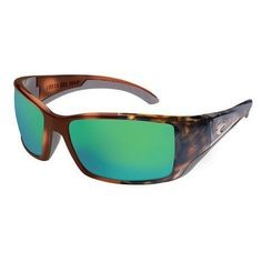 Costa Del Mar BL.10.GMG Oversized Polarized Mirror Wave 400 Glass Sunglasses