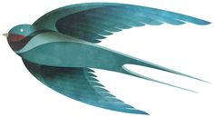 Andrew Lyons' Incredible Bird Illustrations for Strong
