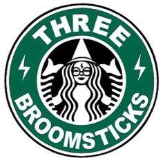 Three Broomsticks Starbucks logo