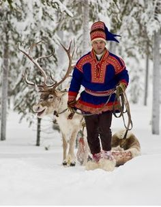 same man with reindeer Amazing People, Good People, We Are All One, Lappland, Reindeer, The Good Place, Religion, Faces, Community