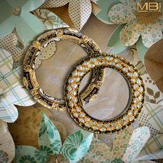 Polki kada and pacheli with enamel. #MBj #Luxury #Desirable #Glamour #Modern #Pacheli #JewelleryLove #Kada