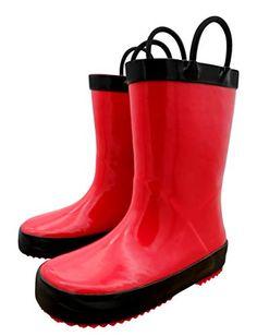 Clarks SNOW Girls kids Teens Boots Red Winter WATERPROOF Lined Padded Wellies K