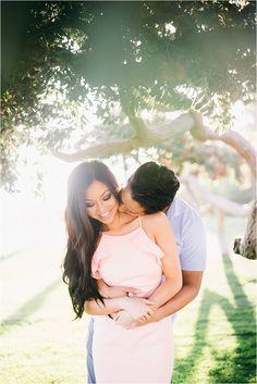 Gorgeous Stylish Santa Monica Engagement Session | Jenna Bechtholt Photography