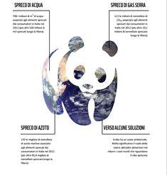 """Dal report del Wwf """"Quanta natura sprechiamo? Le pressioni ambientali degli sprechi alimentari in Italia"""", 2013"""