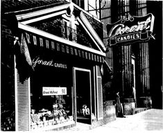 """GORANT CHOCOLATE YOUNGSTOWN OHIO. Factory located in Boardman, Ohio and the stores were called the """"Yum Yum Tree"""""""