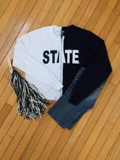 Penn State Zippered T-shirt by ChicCreationsByLulu on Etsy
