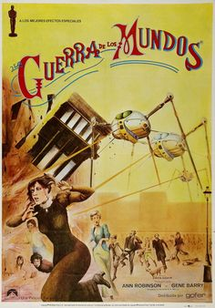The War of the Worlds (1953) How many nightmares did I have as a child? Child...  mass hysteria still freaks me out.