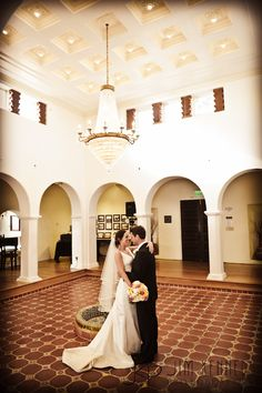 Bride and Groom moment at Casa Romantica | Jim Kennedy Photographers