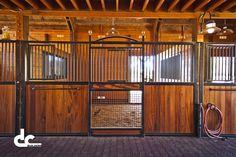 Custom Horse Stall Fronts in Penn Valley, California