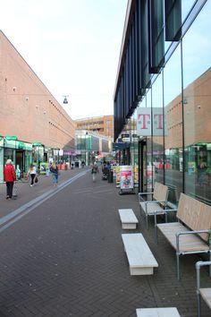 Nieuw gedeelte van het centrum.