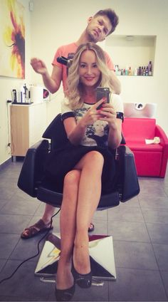 #hair #blonde #ombre #happy