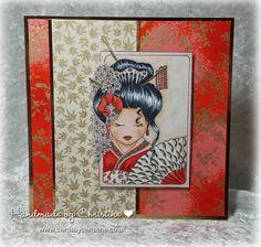 Handmade by Christine: An Oriental Peek....