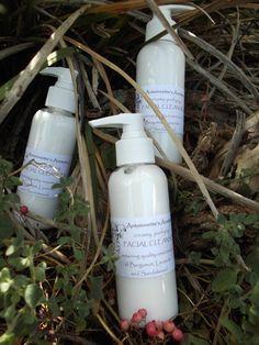 creamy facial cleanser ~ $15.00/125ml