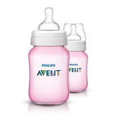 Pack Of 3 260 Ml Philips Avent Natural Feeding Bottle Transparant