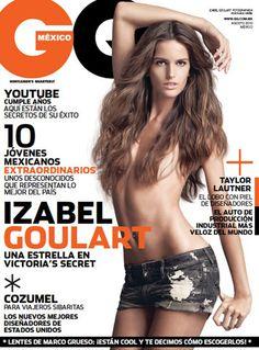 Agosto en GQ con Izabel Goulart