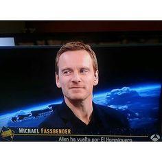 Perfect Michael Fassbender  In spanish tv right now!! ... Muero de amor!! #michaelfassbender #handsome #hot #sexy #gentleman #perfect #cute #blueeyes #actor #german #elhormiguero #aliencovenant #assassinscreed #magneto #xmen #stevejobs #slowwest #jonahhex #macbeth #andmore #credittoowner