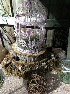 Destiny's woodland fairy party decorations