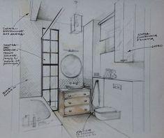 Recursos Interior: Autocad, descargas .dwg, ideas, diseño, bloques 3D: Tipos de bocetos de interiorismo y decoración