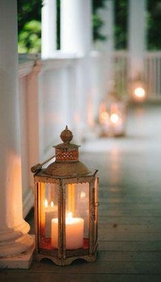 porch lanterns....