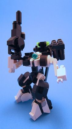 Mech 02, via Flickr. awesome MF0 mecha in LEGO